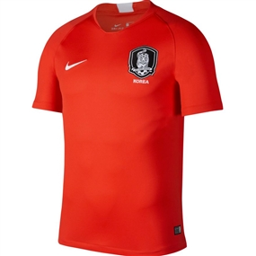 Nike Korea Home Stadium Jersey '18-'19 (Light Crimson/White)