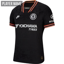 Nike Chelsea Third Vapor Match Jersey '19-'20 (Black/White)