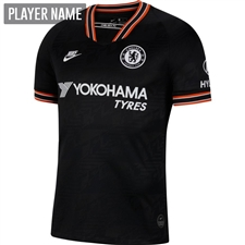 Nike Chelsea Third Stadium Jersey '19-'20 (Black/White)