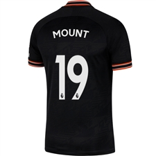 Nike Chelsea 'MOUNT 19' Third Stadium Jersey '19-'20 (Black/White)