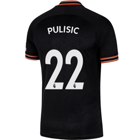 Nike Chelsea 'PULISIC 22' Third Stadium Jersey '19-'20 (Black/White)