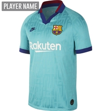 Nike FC Barcelona Third Stadium Jersey '19-'20 (Cabana/Deep Royal Blue)