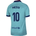 Nike FC Barcelona 'MESSI 10' Third Stadium Jersey '19-'20 (Cabana/Deep Royal Blue)