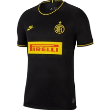 Nike Inter Milan Third Stadium Jersey '19-'20 (Black/Tour Yellow)