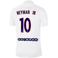 Nike PSG 'NEYMAR JR 10' Third Stadium Jersey '19-'20 (White/University Red)