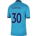 Nike Tottenham 'GEDSON 30' Third Stadium Jersey '19-'20 (Blue Fury/Binary Blue)