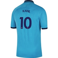 Nike Tottenham 'KANE 10' Third Stadium Jersey '19-'20 (Blue Fury/Binary Blue)