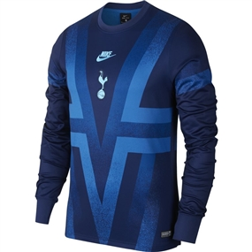 Nike Tottenham Long Sleeve Pre-Match Top (Binary Blue/Team Royal/Blue Fury)
