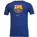 Nike FC Barcelona Crest T-Shirt '19 (Deep Royal Blue)