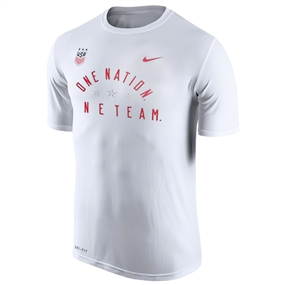 Nike USA Legend 2.0 T-Shirt (White)
