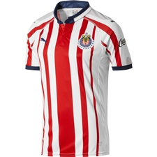 Puma Chivas Home Replica Jersey '18-'19 (White/Red/New Navy)