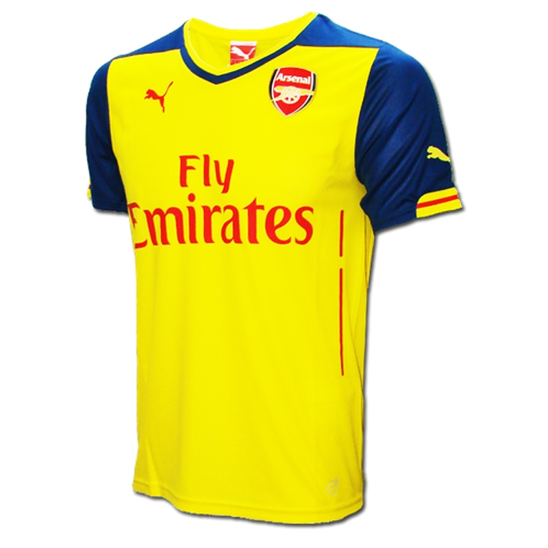 bb00039f9 SALE  54.95 - Puma Arsenal Away  14- 15 Replica Soccer Jersey ...