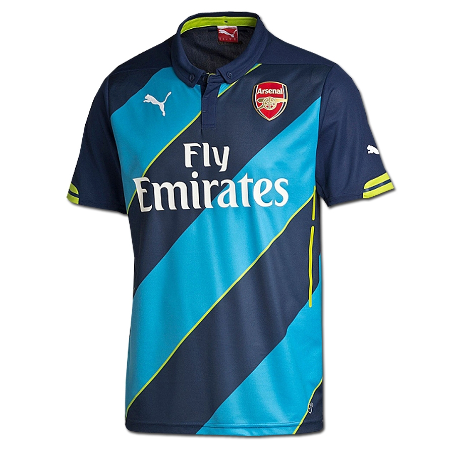 cd14b99fe SALE  54.95 - Puma Arsenal Third  14- 15 Replica Soccer Jersey (Navy ...