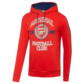 Puma Arsenal Fan Hoody (High Risk Red)