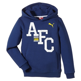 Puma Arsenal Fan Hoody (Estate Blue)