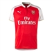 Puma Arsenal Home '15-'16 Replica Soccer Jersey (High Risk Red/White)