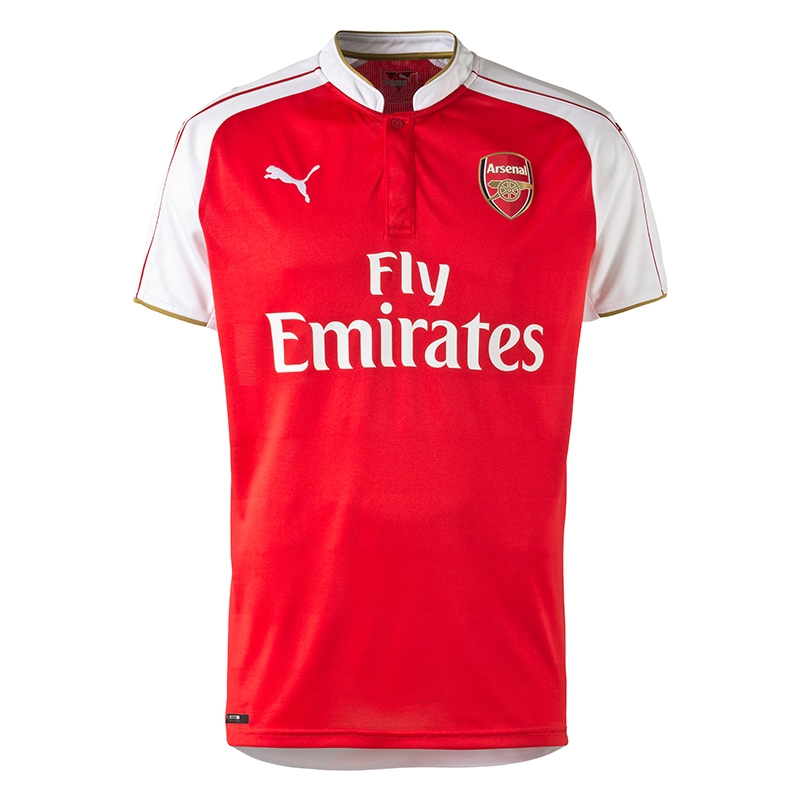 sports shoes 57818 e3749 Puma Arsenal Home '15-'16 Replica Soccer Jersey (High Risk Red/White)