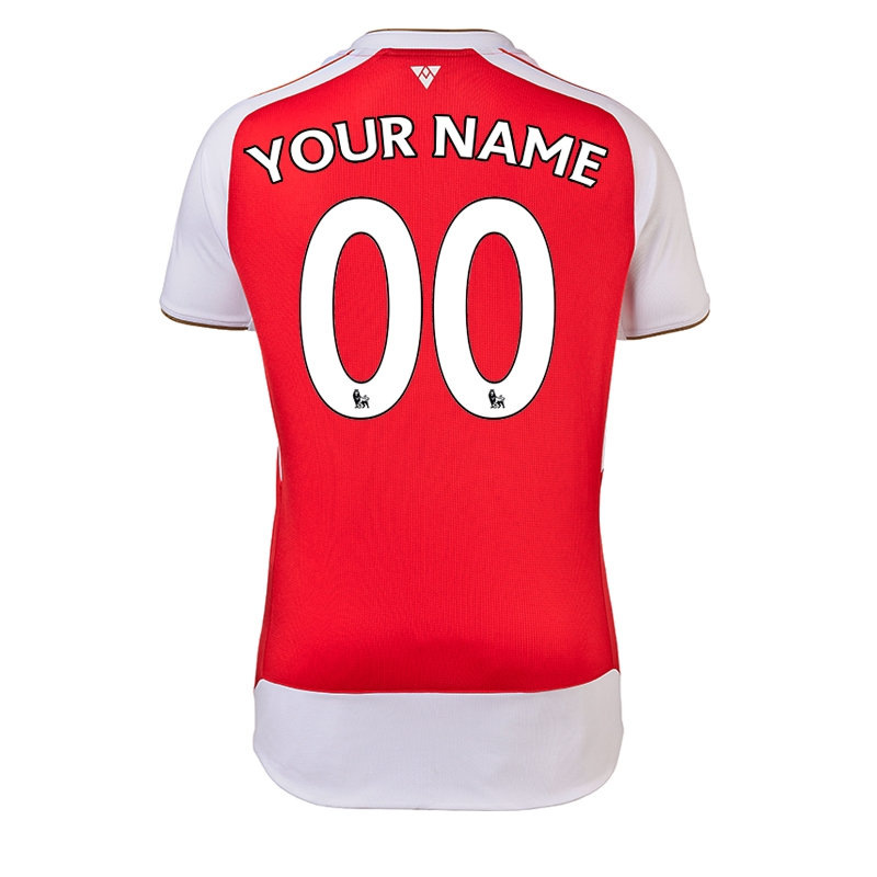 3d2c683dd  103.49 - Puma Arsenal  CUSTOM  Home  15- 16 Replica Soccer Jersey ...