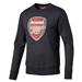 Puma Arsenal Fan Crest Sweatshirt (Dark Grey Heather)