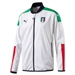 Puma FIGC Italy Stadium Jacket (White/Peacoat)