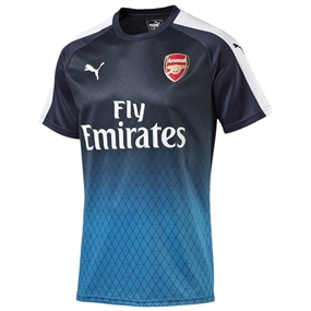 Puma Arsenal Stadium Training Jersey (Black Iris/Victory Gold)