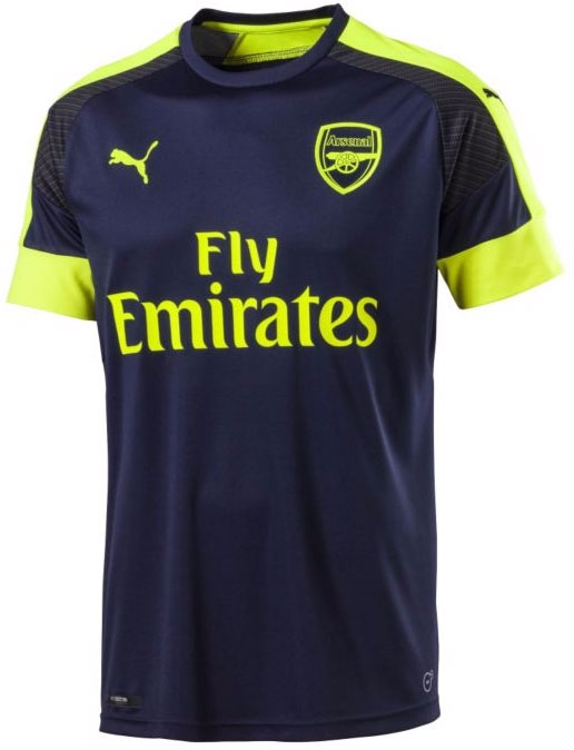 19d9c1bd4 Puma Arsenal Third '16-'17 Replica Soccer Jersey (Peacoat/Safety ...