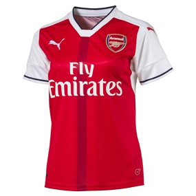 Puma Women's Arsenal Home '16-'17 Replica Soccer Jersey (High Risk Red/White)