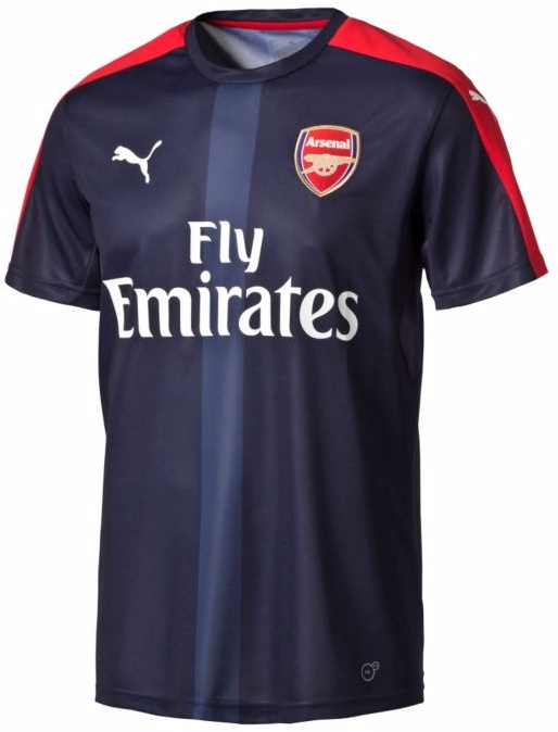 reputable site 27b90 fef20 Puma Arsenal Stadium Training Jersey (High Risk Red/Peacoat)