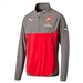 Puma Arsenal Training Fleece (Steel Gray/High Risk Red)