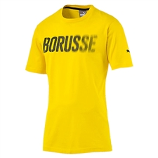 Puma BVB Borusse T-Shirt (Cyber Yellow/Black)