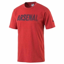 Puma Arsenal Fan T-Shirt (High Risk Red Heather)