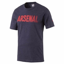 Puma Arsenal Fan T-Shirt (Peacoat Heather)