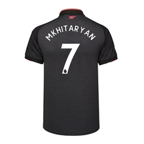 Puma Arsenal 'MKHITARYAN 7' Third '17-'18 Replica Soccer Jersey (Dark Heather Gray/Puma Black)
