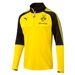 Puma Borussia Dortmund 1/4 Zip Training Top (Cyber Yellow/Black)