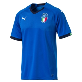 Puma Italy Home Jersey '17-'18 (Blue)