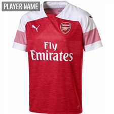 Puma Arsenal Home Jersey '18-'19 (Chili Pepper/White)