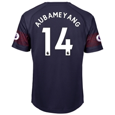 Puma Arsenal 'AUBAMEYANG 14' Away Jersey '18-'19 (Peacoat/High Risk Red)