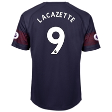 Puma Arsenal 'LACAZETTE 9' Away Jersey '18-'19 (Peacoat/High Risk Red)