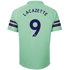 Puma Arsenal 'LACAZETTE 9' Third Jersey '18-'19 (Biscay Green/Peacoat)