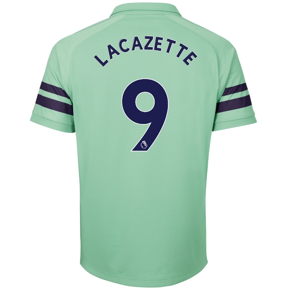 best loved bb682 bd932 Puma Arsenal 'LACAZETTE 9' Third Jersey '18-'19 (Biscay Green/Peacoat)