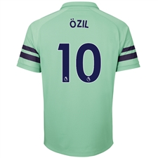 Puma Arsenal 'OZIL 10' Third Jersey '18-'19 (Biscay Green/Peacoat)