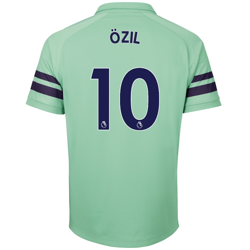 buy online 23b7d 24f6e Puma Arsenal 'OZIL 10' Third Jersey '18-'19 (Biscay Green/Peacoat)