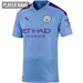 Puma Manchester City Home Authentic Jersey '19-'20 (Team Light Blue/Tillandsia Purple)