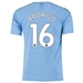 Puma Manchester City 'RODRIGO 16' Home Authentic Jersey '19-'20 (Team Light Blue/Tillandsia Purple)