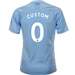Puma Manchester City 'CUSTOM' Home Jersey '19-'20 (Team Light Blue/Tillandsia Purple)