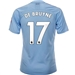 Puma Manchester City 'DE BRUYNE 17' Home Jersey '19-'20 (Team Light Blue/Tillandsia Purple)