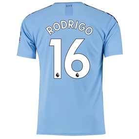 Puma Manchester City 'RODRIGO 16' Home Jersey '19-'20 (Team Light Blue/Tillandsia Purple)