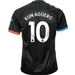 Puma Manchester City 'KUN AGUERO 10' Away Jersey '19-'20 (Black/Georgia Peach)