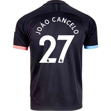 Puma Manchester City 'JOAO CANCELO 27' Away Jersey '19-'20 (Black/Georgia Peach)
