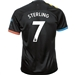 Puma Manchester City 'STERLING 7' Away Jersey '19-'20 (Black/Georgia Peach)
